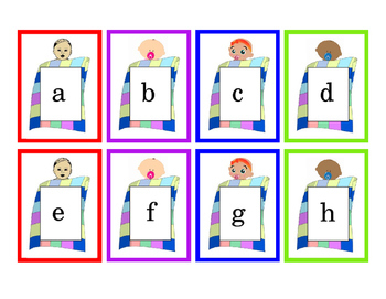 30pgs Favorite Things Task Cards Colorful Alphabet Math Numbers 1 to 24