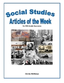 31 Articles of the Week U.S. History 1850-Present Mega Pack