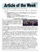 31 Articles of the Week U.S. History 1850-Present Mega Pack