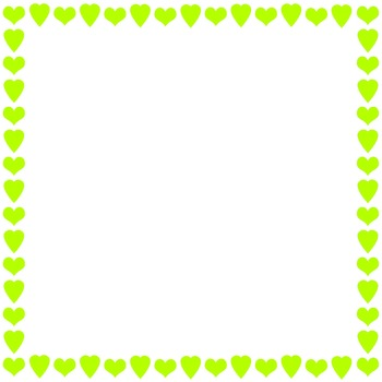 31 Colorful Heart Border Frames