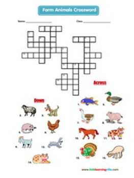 31 Crossword Vocabulary Puzzles
