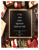 Christmas Copywork - 31 Day Advent Scripture Copywork for Homeschool/Family