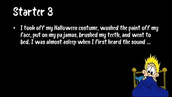 31 Days of Halloween Starters