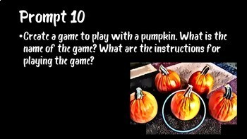 31 Days of Halloween Writing Prompts