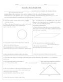 31) Design Decorative Pieces Activity (Area & Perimeter of Basic Shapes)