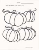 31 Fall Season and Halloween Worksheets