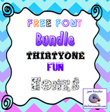 31 Great Fun Fonts for Free!!