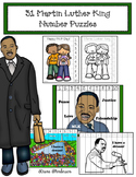 50% Off 31 Martin Luther King Number Puzzles