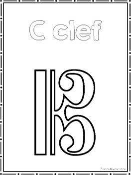 31 Music Symbols Color Sheets. Preschool-2nd Grade Music.