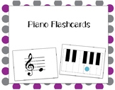 31 Piano Flashcards for Treble and Bass Clef