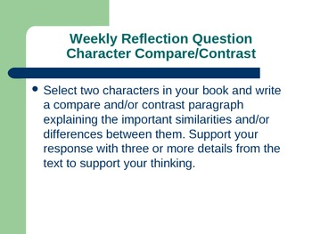 31 Reading Journal Reflection Questions and Guides