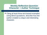 31 Reading Journal Reflection Questions and Guides Distanc