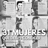 31 mujeres que debes conocer - Women's History Month biographies