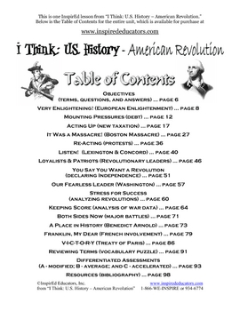 3102-8 Declaring Independence (American Revolution)