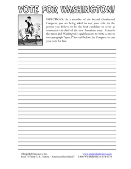 3102-9 George Washington Research Lesson