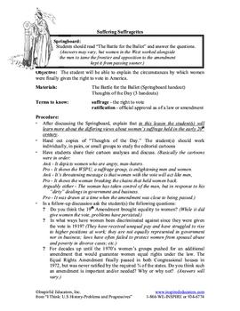 3107-14 Women's Suffrage