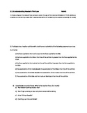 3.1.3 Quiz - Understanding Newton's Third Law