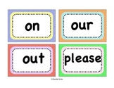 315 Dolch Words Word Wall Cards