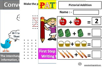 318 Literacy and Mathematics Printable Worksheets
