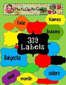 319 Labels