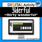 31derful - A Google Drive Digital Activity