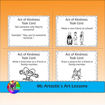 Acts of Kindness Task Cards