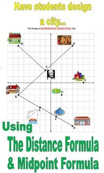 32) City Plan Design Activity Applying Midpoint & Distance
