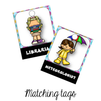 32 Classroom Jobs and Student Brag Tags LOVE HEARTS