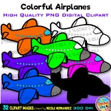 Airplanes Clip Art for Personal and Commercial Use