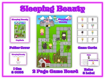 32 ELA Kindergarten Folder Games - Common Core Pack #3 - Word Work Centers!