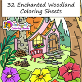 32 Enchanted Woodland Animal Coloring Pages - Fun Activity (K-3)