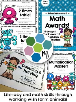 Math Milestones Awards