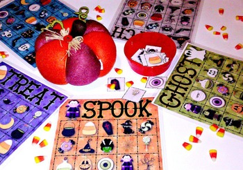 32 Halloween Bingo Cards