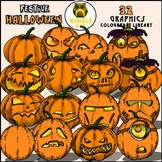Pumpkin Clipart (Halloween)