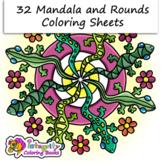 32 Mandala Coloring Pages - Fun Activity (K-3)