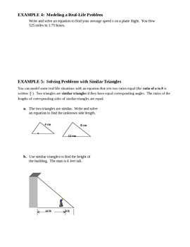 3.2 Solving Equations Using Multiplication and Addition