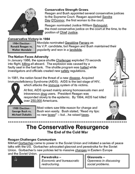 32 - The Conservative Resurgence - Scaffold/Guided Notes (Filled-In Only)