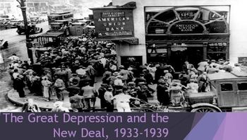 32. The Great Depression and the New Deal, 1933-1939