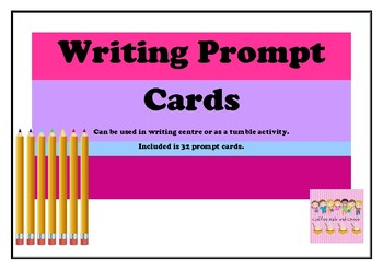 32 Writing Prompt Cards
