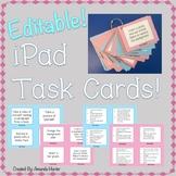 Editable iPad Technology Task Cards