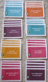 motivation 32 cards positive reinforcement gratitude achievement SHIPPING INCL