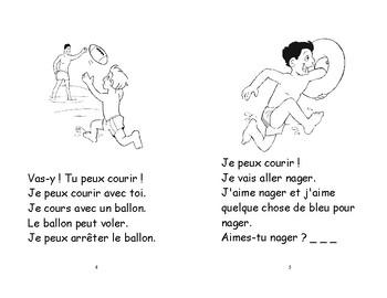 32) voler-nager et courir - livret de lecture ENFANT C1 1ère-2e