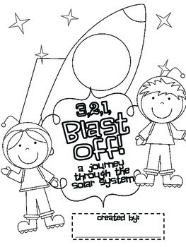 3,2,1... Blast Off! {Informational Book for 1st and 2nd Graders!}