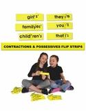 Contractions & Possessives Flip Strips