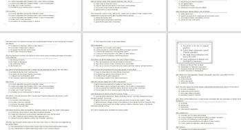 325 US History Grade 8 NYS Multiple-Choice topics 8.1, 8.2, and 8.3