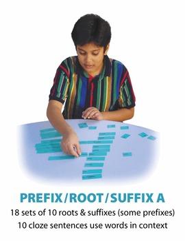 Prefix Root Suffix A Match Manipulatives
