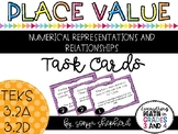 Place Value Task Cards - Word Problems 3.2A