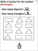 (3.2C) 3rd STAAR Fractions: Names and Symbols (animated and worksheets)