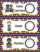 Daily Schedule Cards For Your Classroom  - Colorful Polka Dot Theme