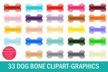 33 Dog Bone Clipart-Dog Bone Graphics